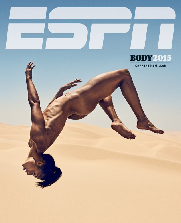 Chantae McMillan, ESPN Magazine Body Issue