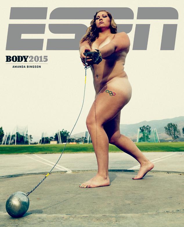 Amanda Bingson, ESPN Magazine Body Issue