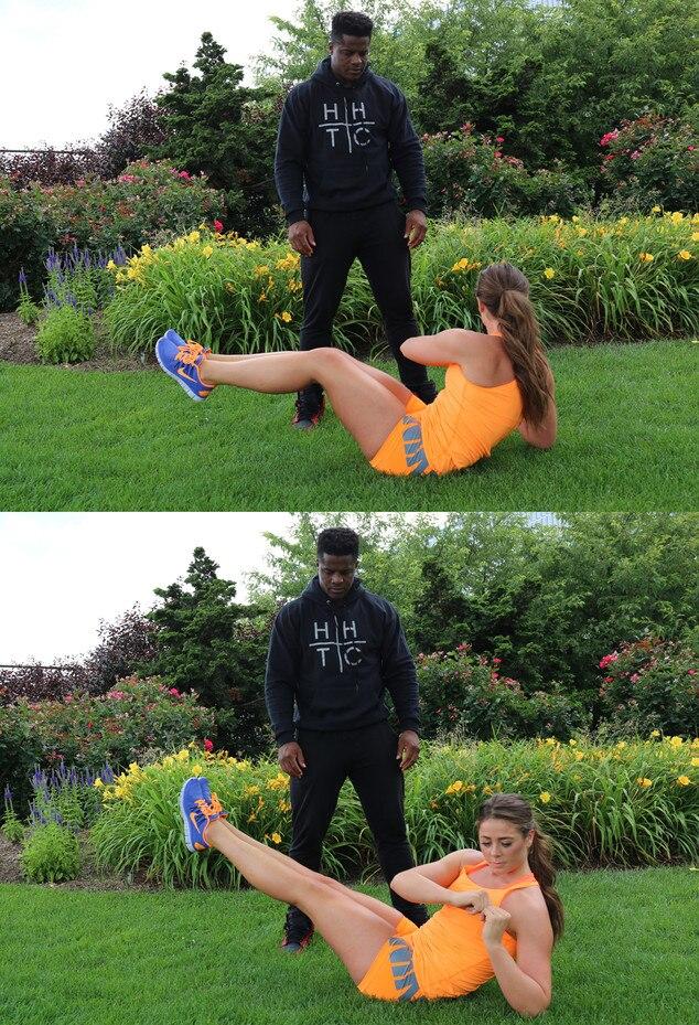 Fitness Challenge Week 8 - Russian Twists