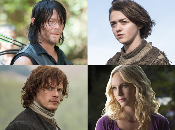 Maisie Williams, Norman Reedus, Candice Accola, Sam Heughan
