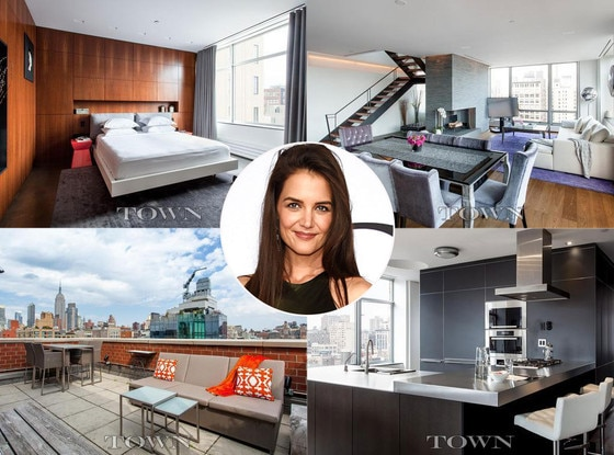 Katie Holmes, NYC Penthouse