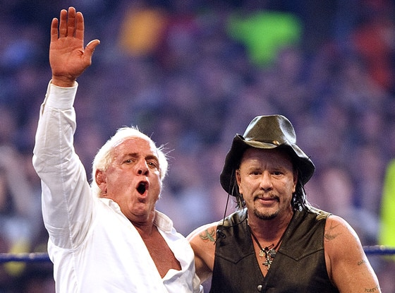 Mickey Rourke, Ric Flair
