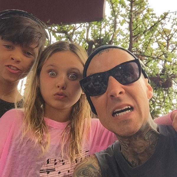 Travis Barker, Kids, Instagram