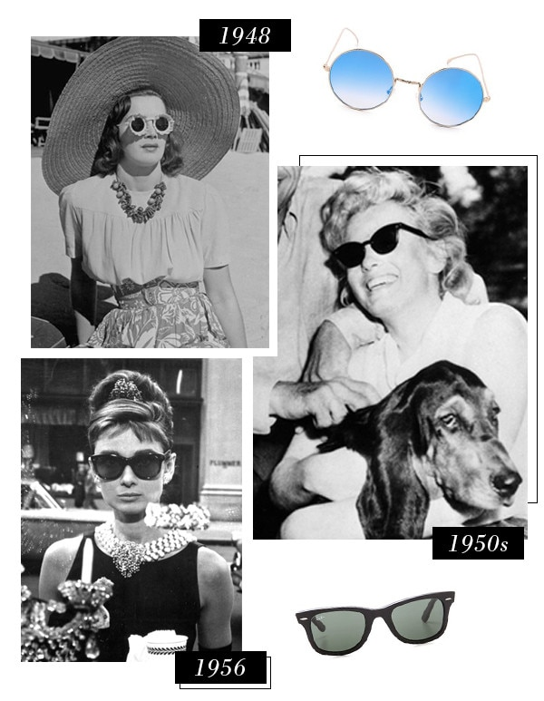 ESC, History of Sunglasses