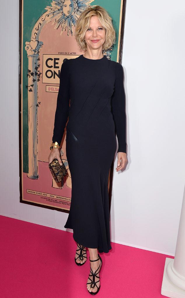 Meg Ryan Looks Beautiful in Rare Public Appearance