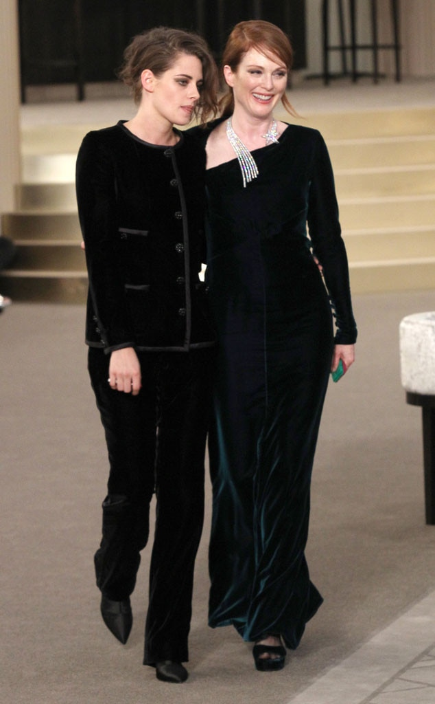 Kristen Stewart, Julianne Moore, Paris Fashion Week