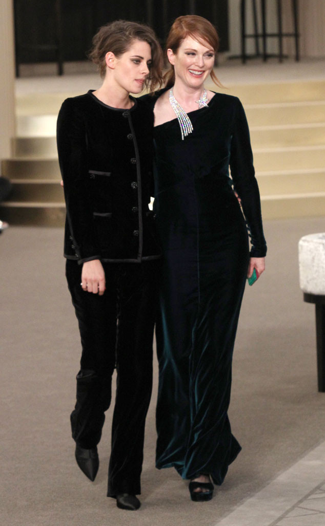 Kristen Stewart, Julianne Moore, Paris Fashion Week