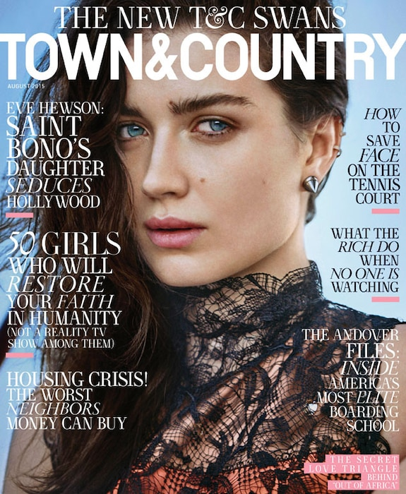 Eve Hewson, Town & Country