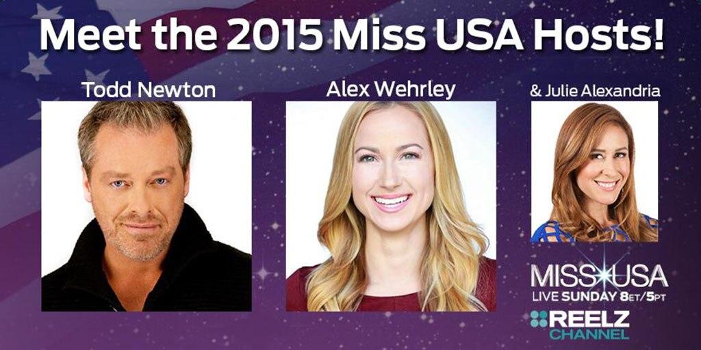Miss USA Hosts, Twitter