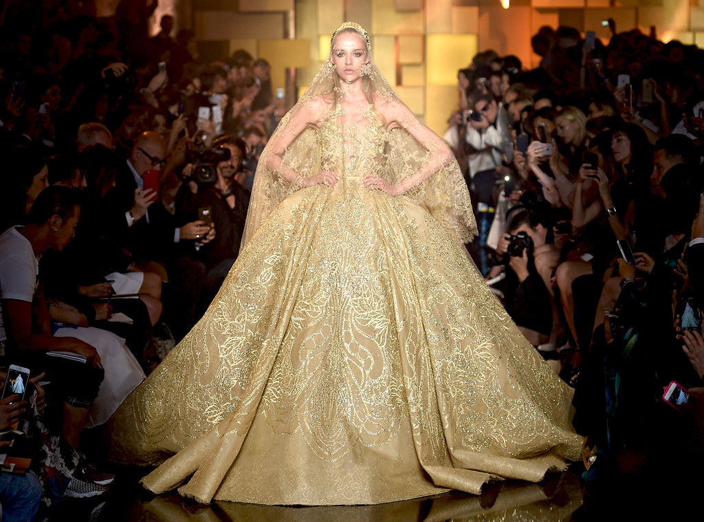 elie saab 2015 from most show stopping wedding gowns ever