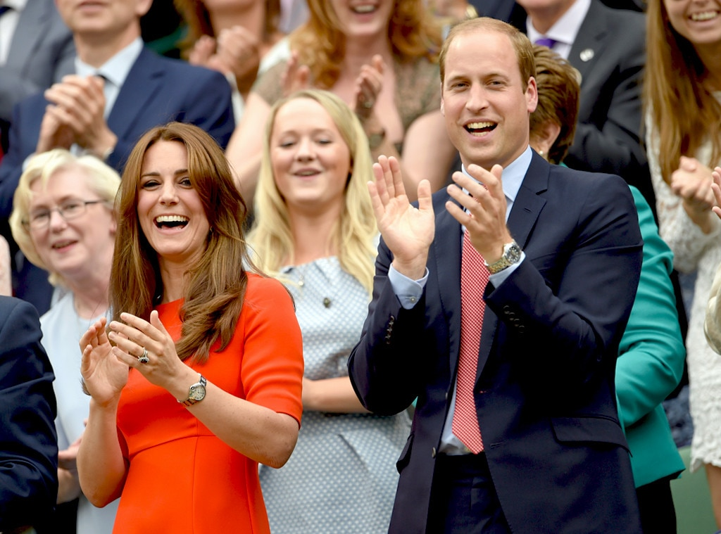 Catherine, Duchess of Cambridge and Prince William, Kate Middleton, Celebs at Wimbledon