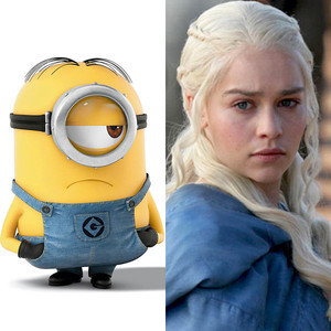 Minions, Emilia Clarke, Game of Thrones