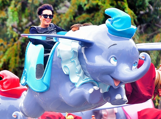 Kris Jenner, Disneyland