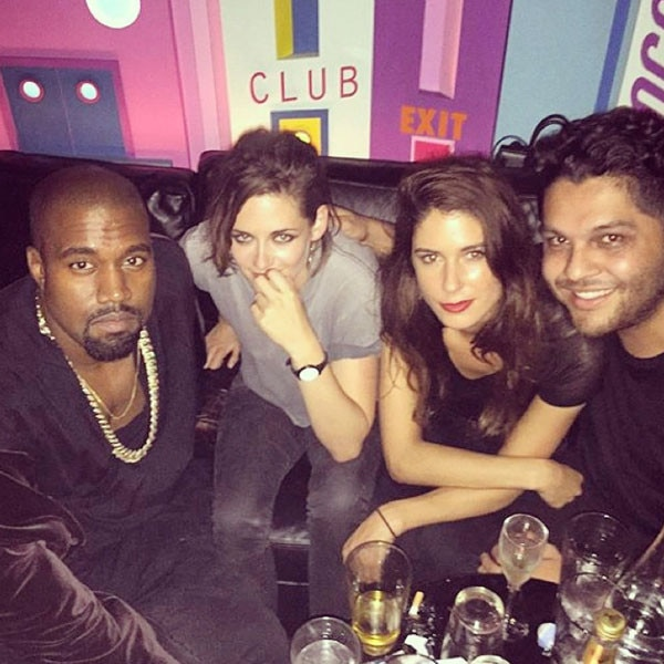 Kanye West, Kristen Stewart, Charlotte Hayes-Jones, CJ Romero