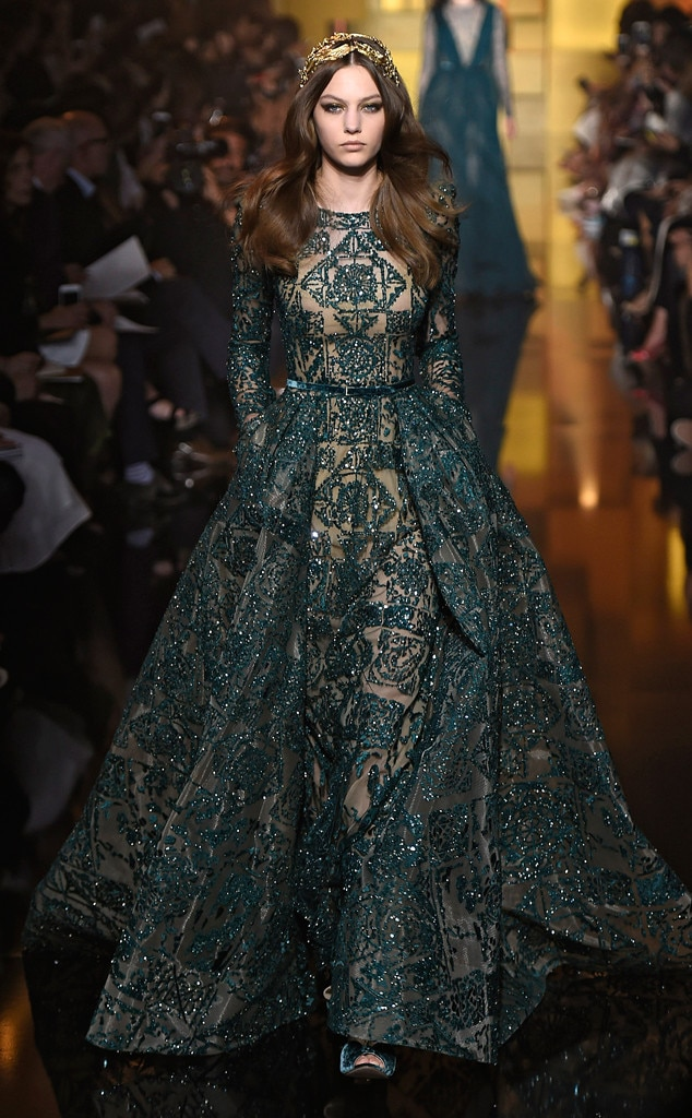 Elie saab from best looks from paris haute couture fashion for Hot couture fashion