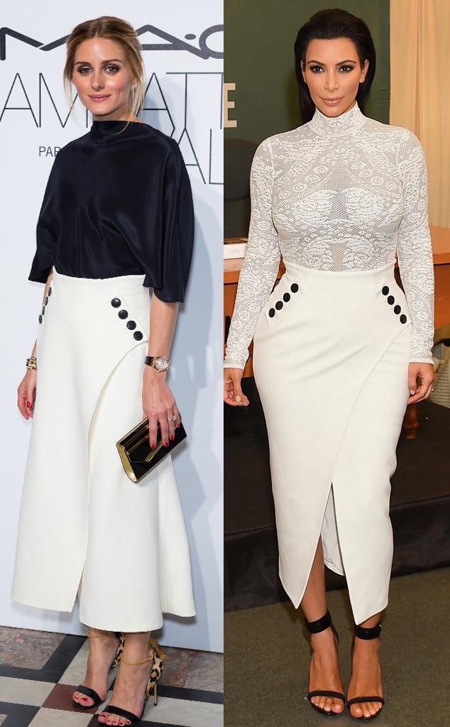 Olivia Palermo, Kim Kardashian