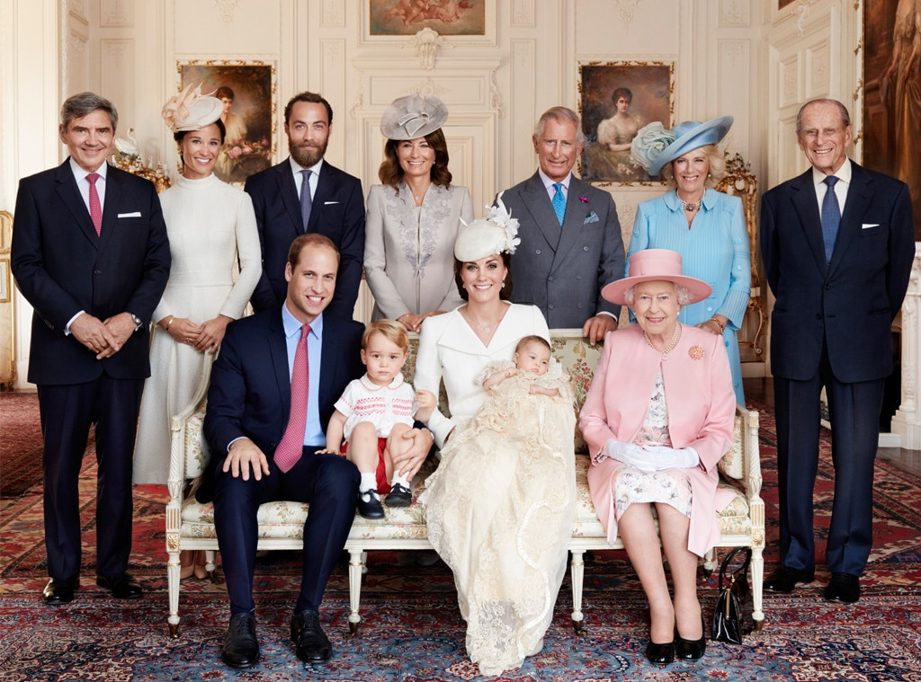 Duchess of Cambridge, Kate Middleton, Princess Charlotte, Prince William, Prince George, Queen Elizabeth