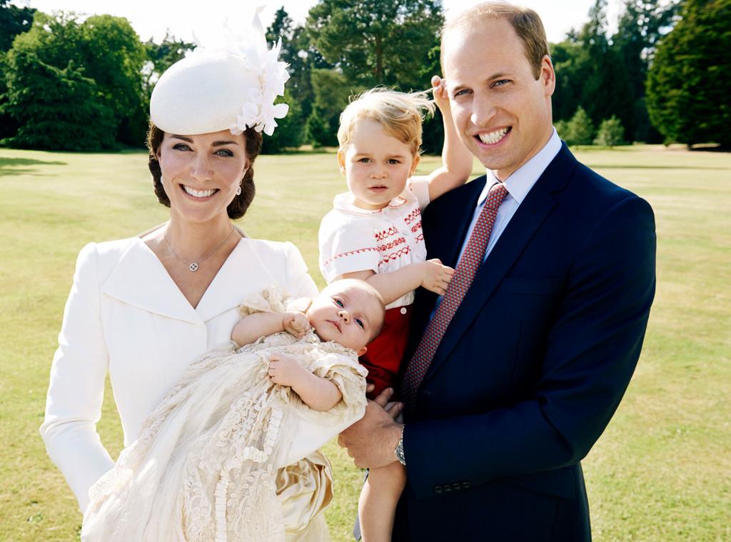 Duchess of Cambridge, Kate Middleton, Princess Charlotte, Prince William, Christening