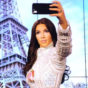 Kim Kardashian, Wax Figure