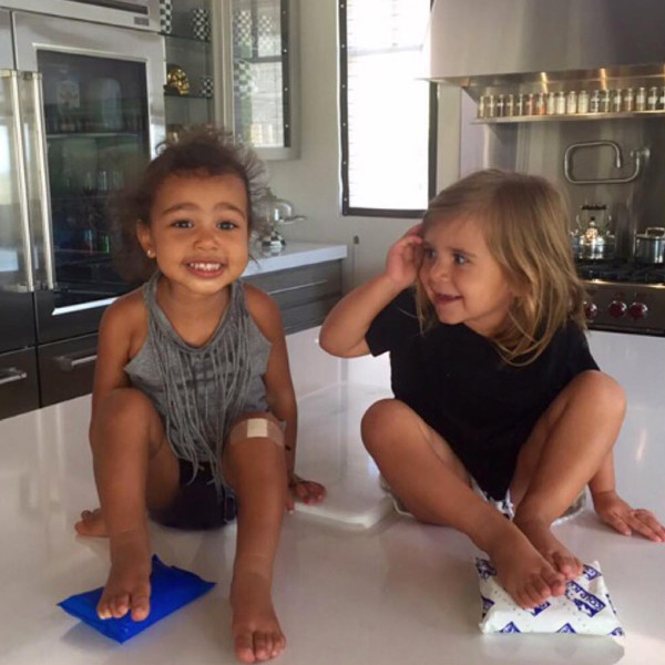 North West Pictures Instagram Keeping Cool from Nort...