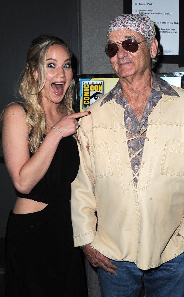 Jennifer Lawrence, Bill Murray, Comic-Con