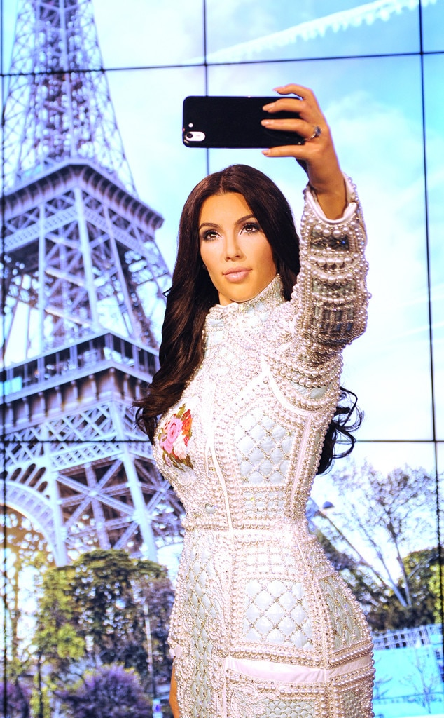 Kim Kardashian's New Wax Figure Gives You the Perfect ...