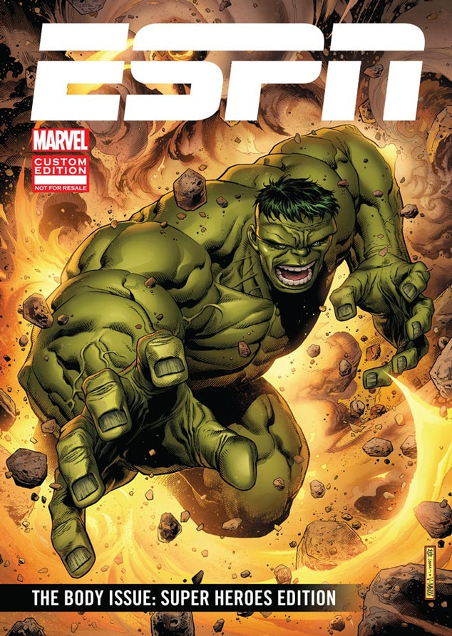 ESPN Releases The Body Issue: Super Heroes Edition Starring Marvel ...