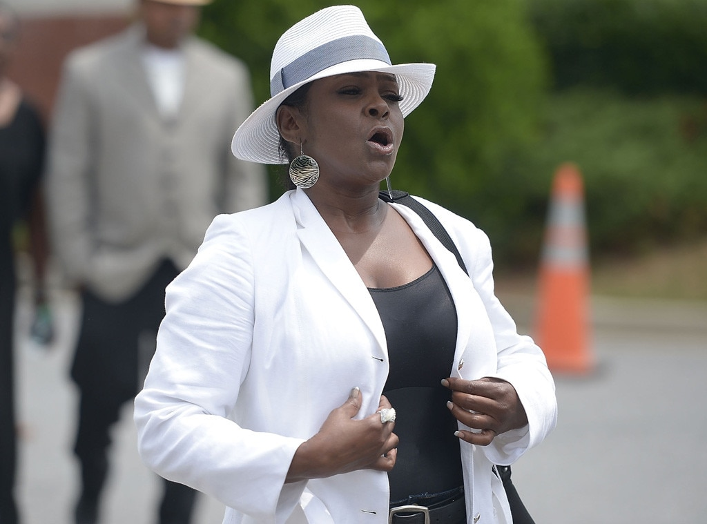 Leolah Brown, Bobbi Kristina Brown Funeral