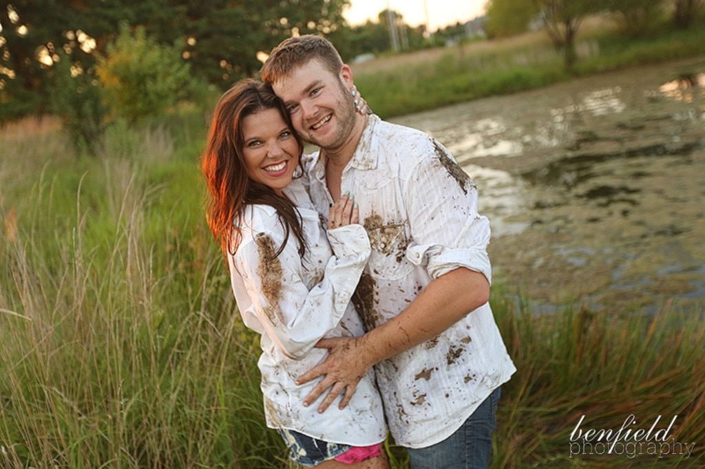 Amy Duggar Engagement Photo