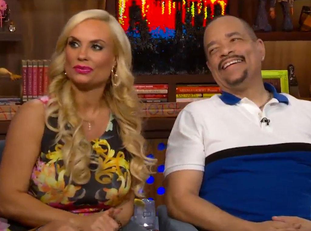 Ice T, Coco, WWHL