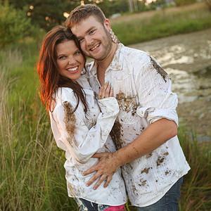Amy Duggar Engagement Photo