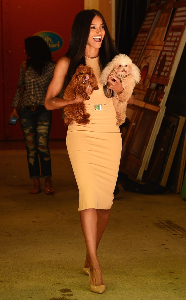 Puppy Love From Ciara 39 S Street Style E News