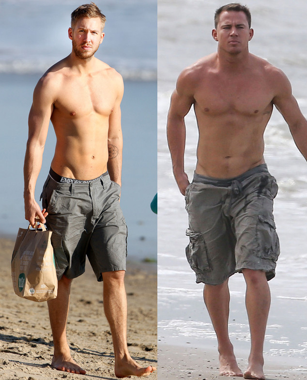 Best of Summer Best Bods, Channing Tatum, Calvin Harris