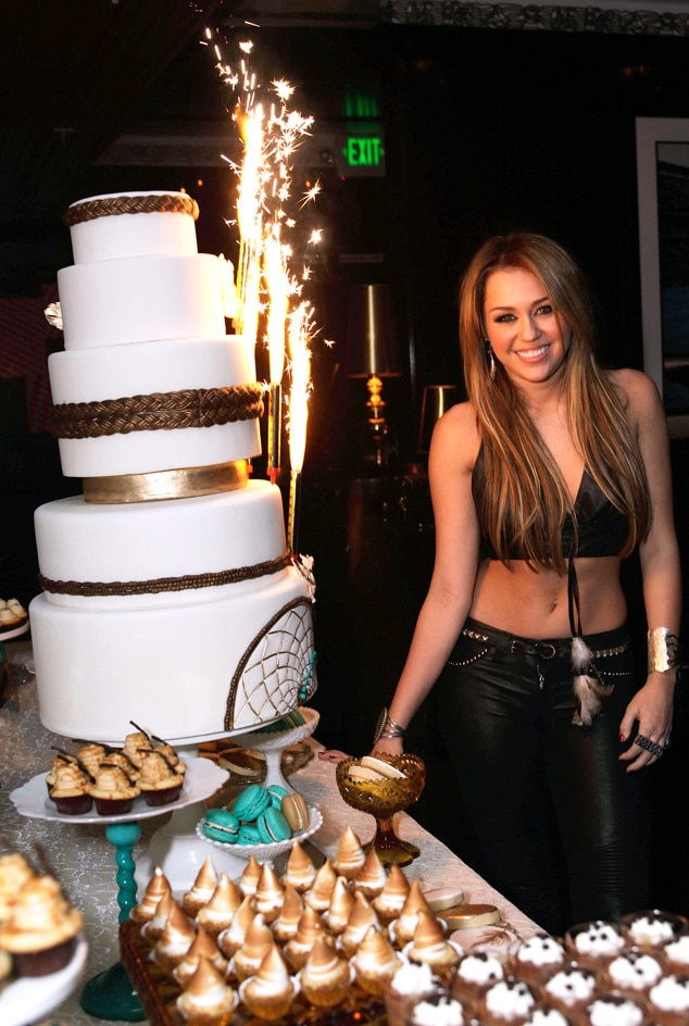 Miley Cyrus, 2010, 18th Birthday