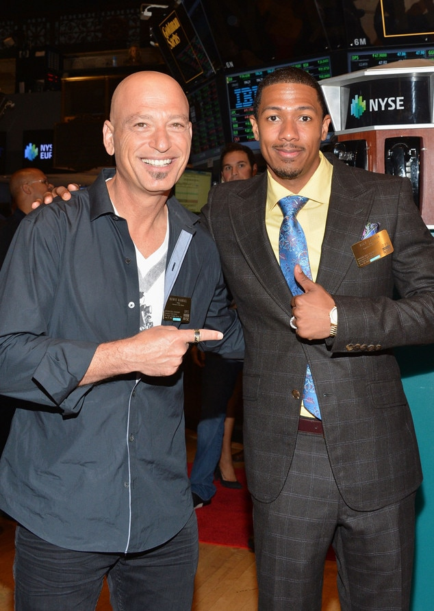 Nick Cannon, Howie Mandel