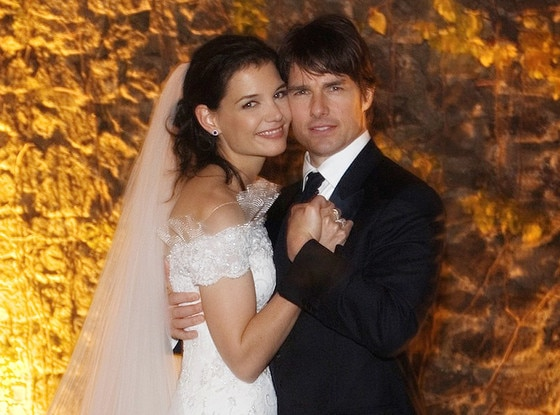 Katie Holmes, Tom Cruise, Official Wedding Photo