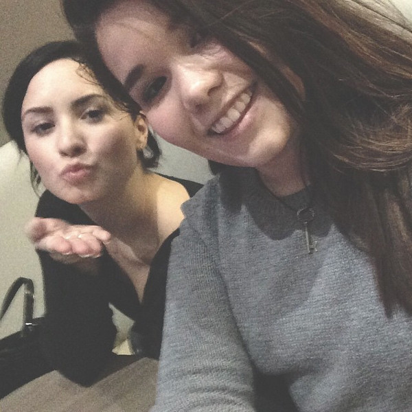 Demi Lovato, Madison De La Garza, Instagram