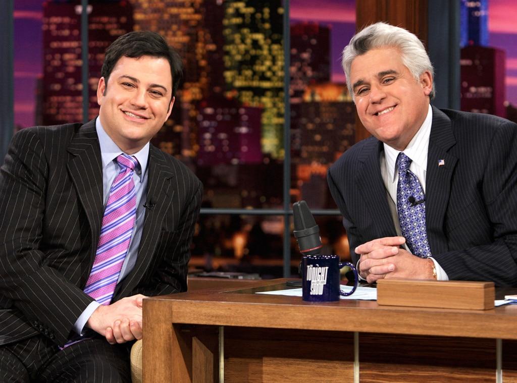 Jimmy Kimmel, Jay Leno