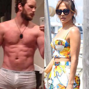 Chris Pratt, Jennifer Lopez