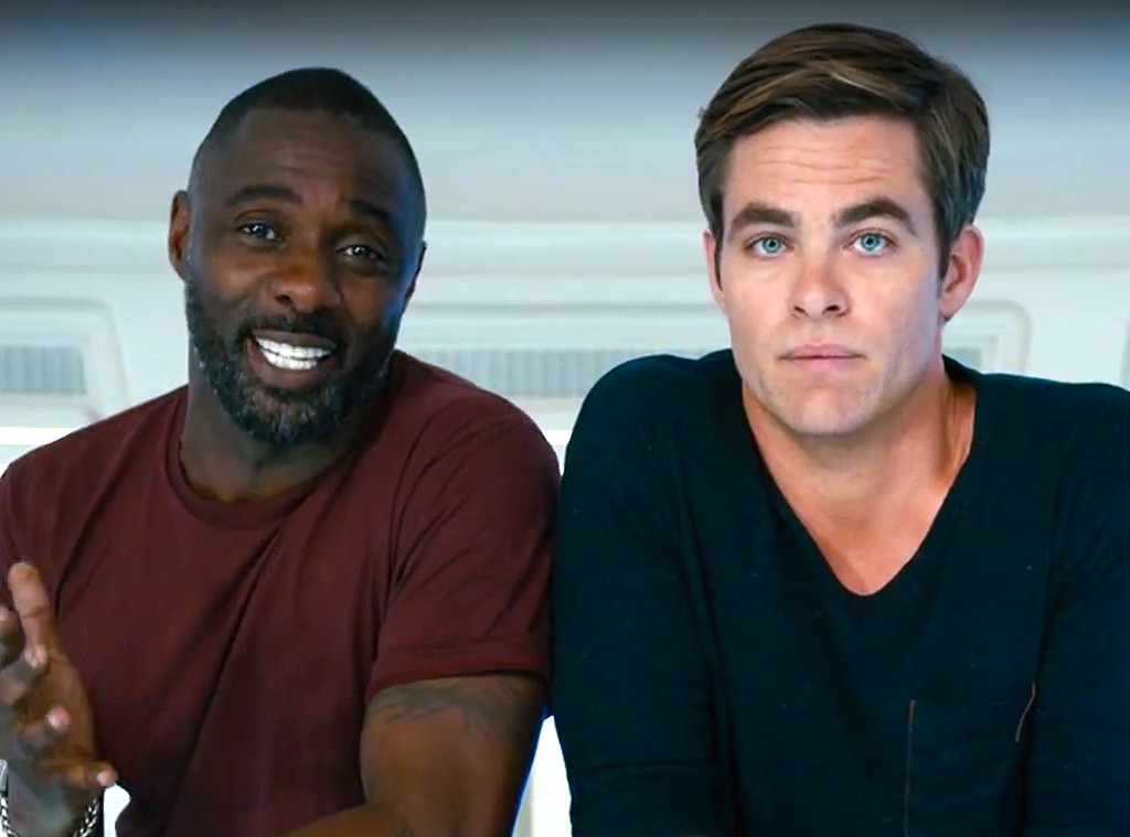 Idris Elba, Chris Pine