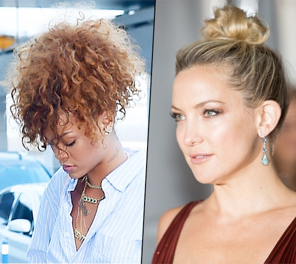 Remarkable Frizzy Hair Don39T Care How To Style The Messy Bun Ponytail And Short Hairstyles Gunalazisus