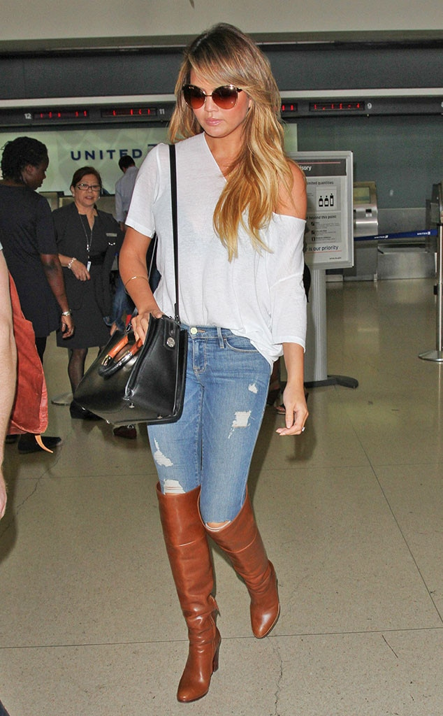 Coachella 2017 fashion - Chrissy Teigen From Gimme That Celeb Boots E News