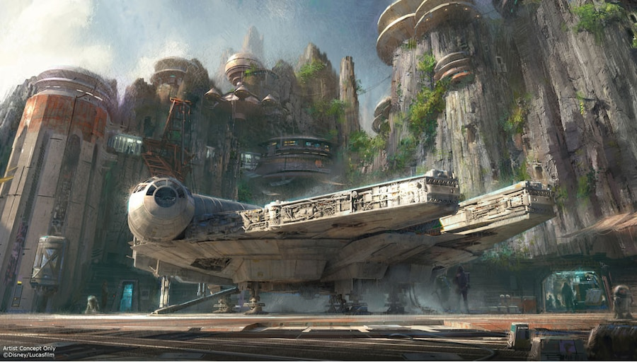 Star Wars Theme Disney Park