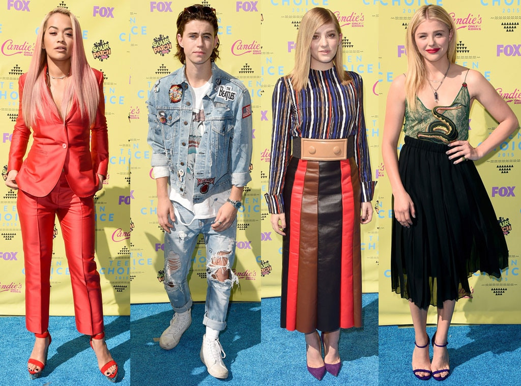 Worst Dressed, 2015 Teen Choice Awards