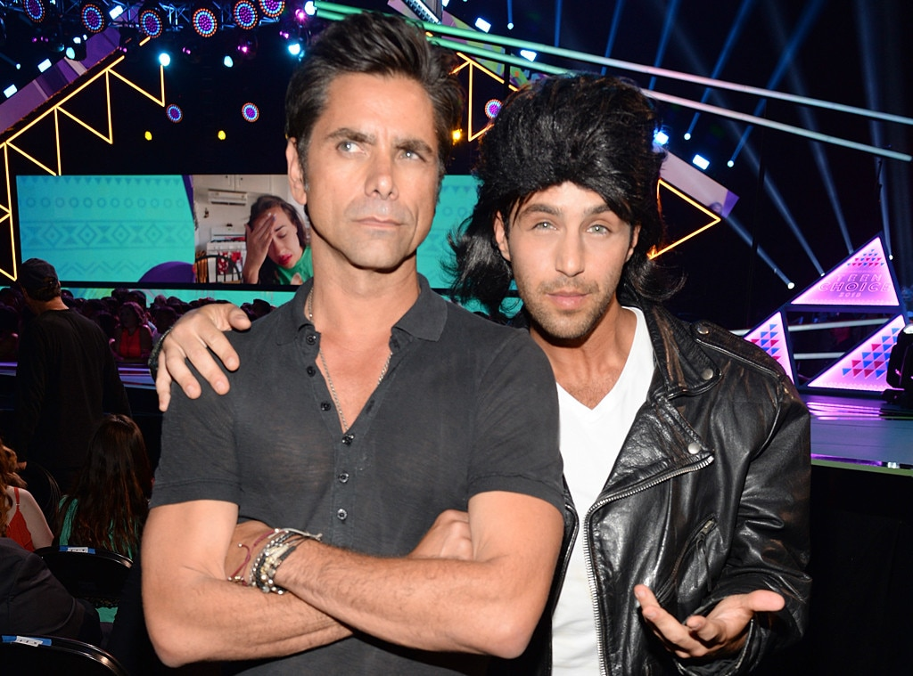 John Stamos, Josh Peck, 2015 Teen Choice Awards
