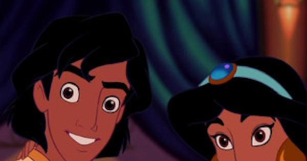 Aladdin Reunion: Aladdin & Princess Jasmine, aka Scott ...