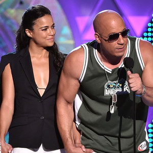 Jordana Brewster, Michelle Rodriguez, Vin Diesel, Teen Choice Awards 2015