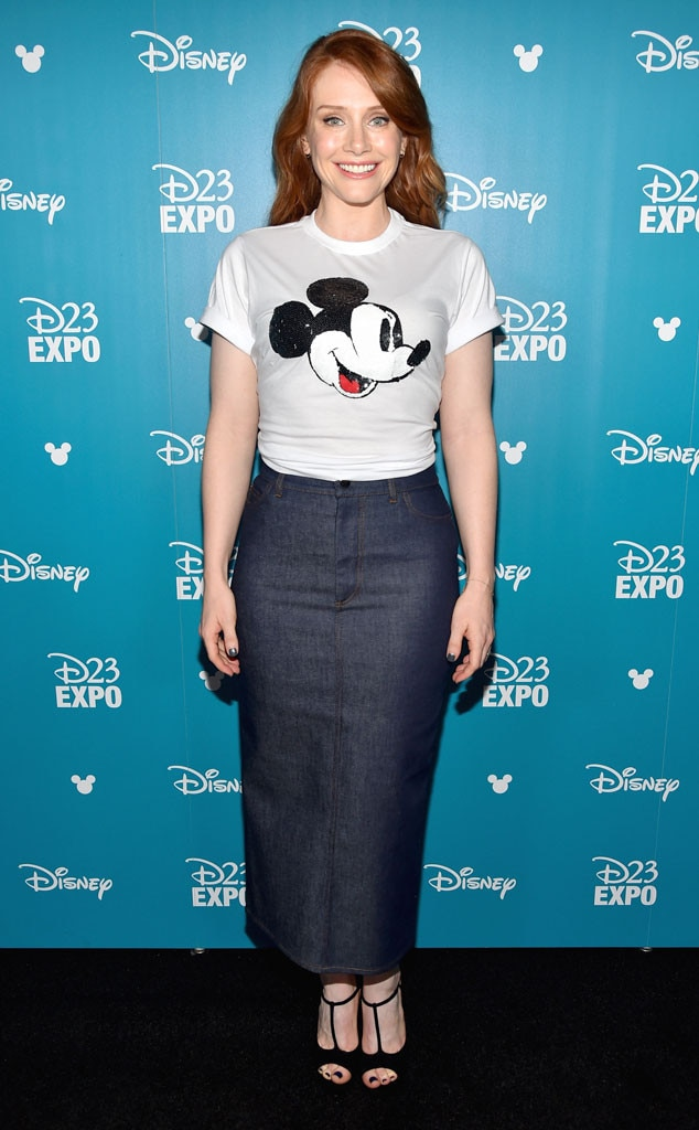Bryce Dallas Howard, D23 Expo