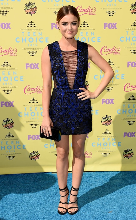 Lucy Hale, 2015 Teen Choice Awards