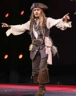 Johnny Depp, D23 Expo